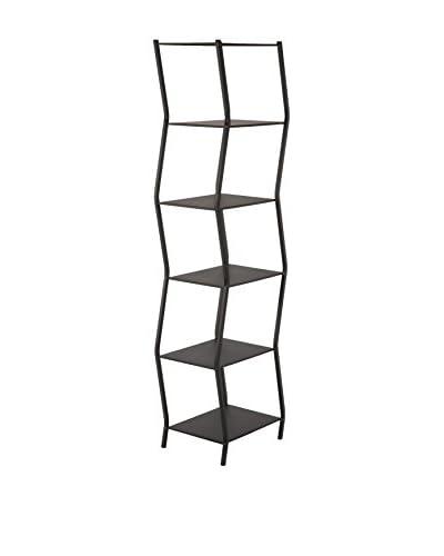 Control Brand Wiggle Book Shelf, Black