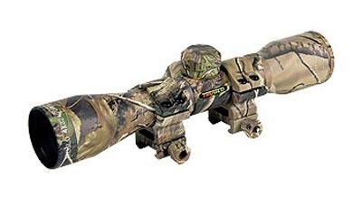 TRUGLO 4X32 Camo Crossbow Scope With Mounting Rings