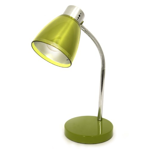 Home Design, Juicy, 15 Inch Tall, Desk Lamp, Chrome/olive Green Acrylic Details image