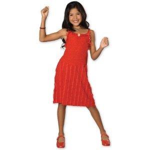 Child SM (Size 4-6, 3-4 yrs)- Festive Gabriella HSM Dress by Rubie's