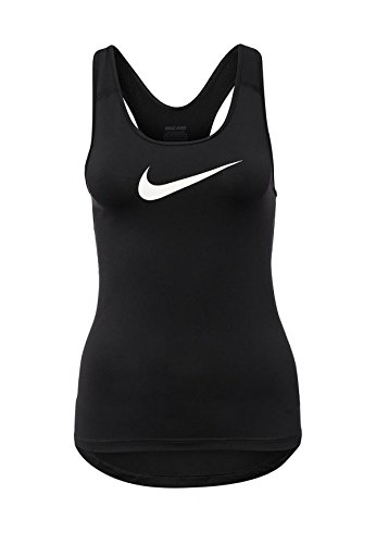 Nike donna D-tank-shirt Pro Cool, colore nero/bianco, S, 725489