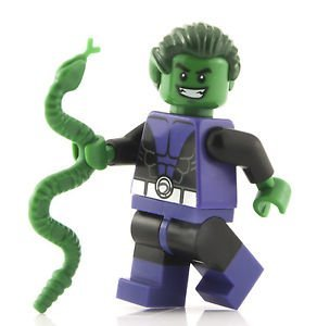 LEGO DC Comics Super Heroes Minifigure - Beast Boy Teen Titan with Snake (76035) (Beast Boy Figure compare prices)