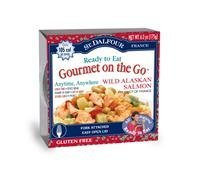 St. Dalfour, Gourmet on the Go, Ready to Eat, Wild Alaskan Salmon, 6 Pack, 6.2 oz (175 g) Each