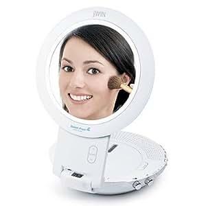 Amazon.com: New Jwin Splash Proof Bathroom Cd Player Am Fm ...