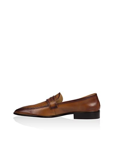 Hemsted & Sons Mocassino Classico [Cuoio]