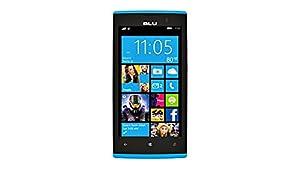 BLU Win Jr LTE - GSM Unlocked Windows Smartphone - Blue