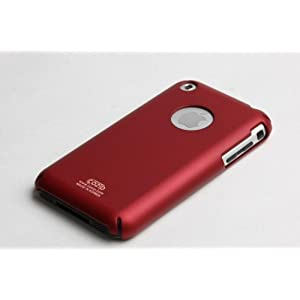 Apple iPhone Soft Polycarbonate Slim fit Case -Red(Cozip Brand-JoWow exclusive) Made in Korea