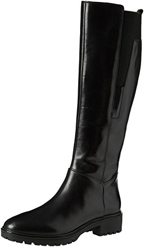 Geox D Peaceful E, Stivali, Donna, Nero (Black), 36