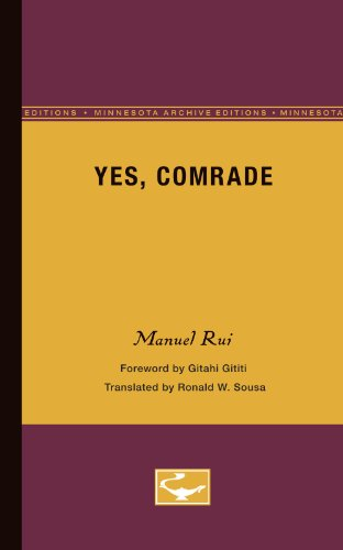 Yes, Comrade (Exxon Lecture Series)