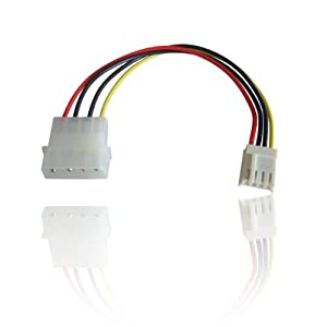 Molex to Floppy Drive Power Cable