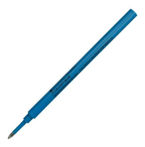 Monteverde Recharge céramique Pointe Fine compatible à la plupart de Stylos Roller avec Capuchon - Bleu (Lot de 2)