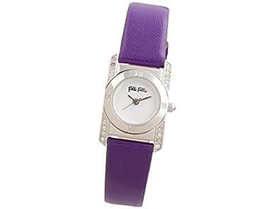 (フォリフォリ) Folli Follie 時計 22mm レディース 腕時計 ホワイト パープル ステンレススチール レザー wf8a042spwpu ブランド 並行輸入品