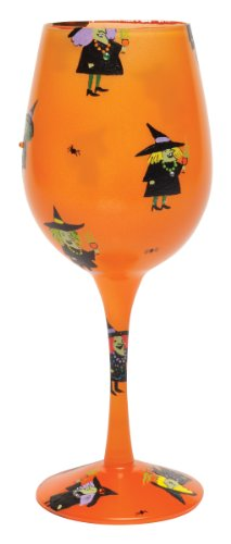 Lolita Halloween Witches Party Wine Glass