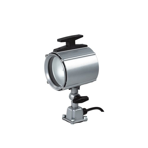 Electrix 7703-24 Machine Light, Halogen, Hard Wire, 70W, 24V, 1750 Raw Lumens