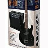 LB10PACK LTD B-10 4 String Bass Guitar Package