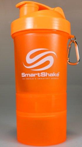 Smartshake Shaker Cup, Orange, 20-Ounce