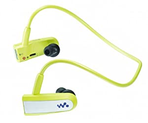 Sony Walkman NWZW202G W Series 2GB Wearable MP3 Player - Lime Green