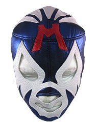 Com mil mascaras adult lucha libre wrestling mask pro fit costume