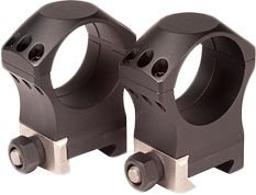 Nightforce Ring Set - 1.125 High - 34mm - Ultralite, 6 Bolt, Black, 1.125 A210 from NightForce