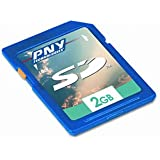 PNY Optima 2GB SD Class 4 Flash Memory Card P-SD2GB-EF