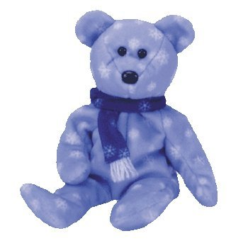 1999 Holiday Teddy Bear - MWMT Ty Beanie Babies