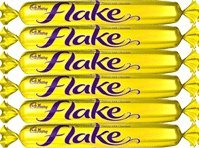 Cadbury Flake Chocolate Bars 6 Count