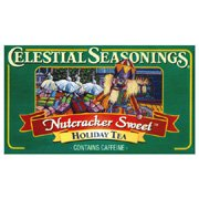 Celestial Seasonings Celestial Seasonings, Black Tea, Nutcracker Sweet, Contains Caffeine, Holiday Tea, 20 Tea Bags, 1.3 oz (37 g) - Case of 6 - 20 Bag