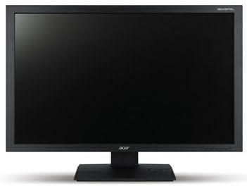 acer B243シリーズ 24型ワイド液晶モニター 非光沢 24型 14ms 1920×1200 300cd m2 入力端子 : ミニD-Sub 15ピン DVI-D 24ピン ( HDCP対応 ) Display Port スピーカー有 ブラック B243PWLBMDR