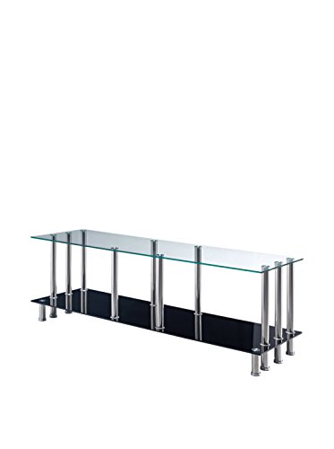 Global Furniture Tv Stand Clear Black Sets
