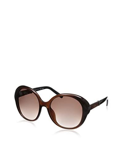 Chloe Women's Sunglasses, Brown/Amber