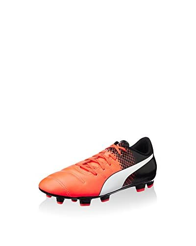 Puma Fußballschuh Evopower 4.3 Tricks Fg koralle/schwarz/weiß