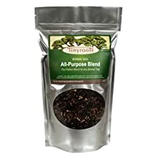 buy Bonsai Tree Soil All Purpose Blend - Two Quarts - Tinyroots-Brand 100% Organic All Natural Great For Any Bonsai Species Genuine Akadama And Turface 28 Frit Mineral Additives For Extra Nutrition