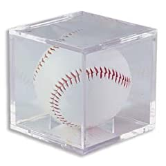 Buy (1) One - Clear Ultra-PRO Baseball Cube Holder - Ultra PRO's Baseball Holder is the... by Ultra Pro
