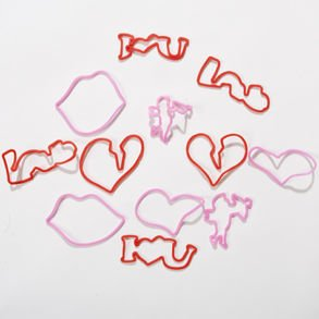 Valentine's Day Rubber Band Bracelets