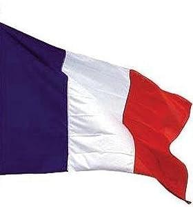 *** PROMOTION *** Drapeau France - 150 x 90 cm (Uniquement chez le vendeur PLANETE SUPPORTER = 100% conforme à l'image)