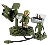 HM Armed Forces Character Building Tri-Service Team: Army Air Defence Missle Launcher Set