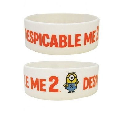 Despicable Cattivissimo Me 2 Rubber Braccialetto Wristband 2D Minions Pyramid International