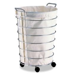 Neu Home Jumbo Laundry Basket with Canvas Bag
