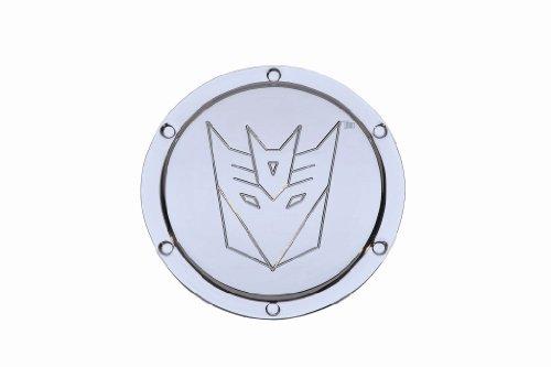 DefenderWorx TC1005 Two Tone Locking Fuel Door with Transformers Decepticon Logo for Camaro 2010-2012 (Defenderworx Camaro compare prices)