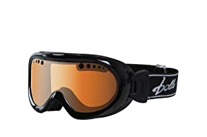 Bolle Boy's Nebula Goggle with Citrus Gun Lens - Black, Small/Medium
