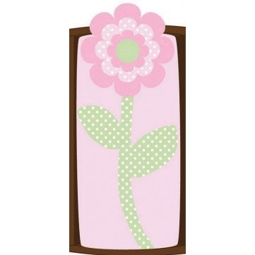 Cocalo Plushy Changing Pad Cover, Flower (Discontinued by Manufacturer)