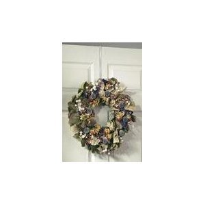 #!Cheap Over the Door Wreath Hanger Hook White Holiday Decor Hook