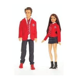 Mattel Barbie Rebelde Roberta and Diego Giftset