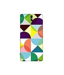 Kolor Edge Printed Back Cover for Sony Xperia C5 Ultra - Multicolor (4394-Ke10343SonyC5UltraSub)