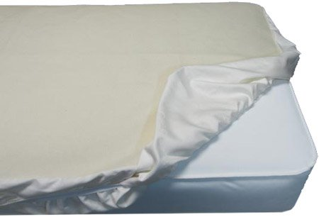 Naturepedic Waterproof Fitted Crib Pad, 28X52 front-3166