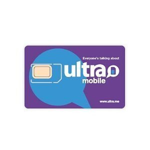 Ultra Mobile SIM Starter Kit Works on Unlocked GSM Phones including iPhone & Android (Verizon Prepaid Starter Kit compare prices)