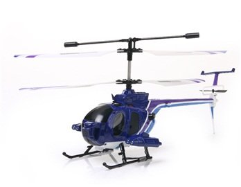 3319B 3.5-Channel R/C Radio Control Helicopter with Camera Gyro (Blue)