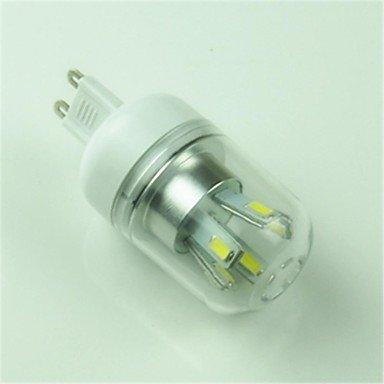 Rayshop - G9 5W 10X5730Smd 400Lm 6000-6500K Cool White Led Corn Lights(Ac 85-265)-G9 10 Ww