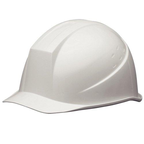 ミドリ安全 ヘルメット 一般作業用 電気作業用 SC11B RA KP付 スーパーホワイト