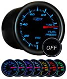 Tinted 7 Color 100psi Fuel Pressure Gauge